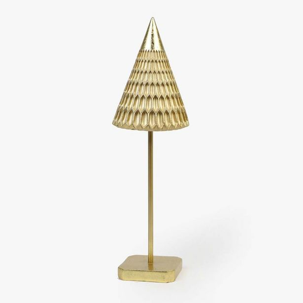 Oferta de Árbol de Navidad Oro D:15x48 cm por 19,99€