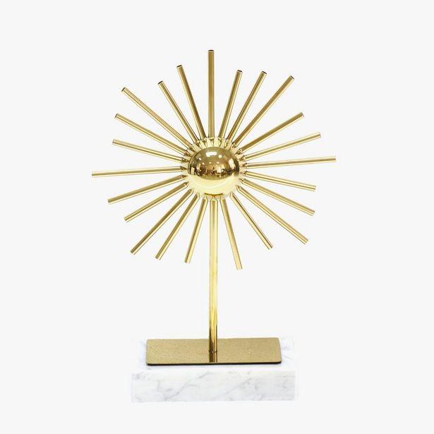Oferta de Sol Mármol Dorado51 cm por 79,99€