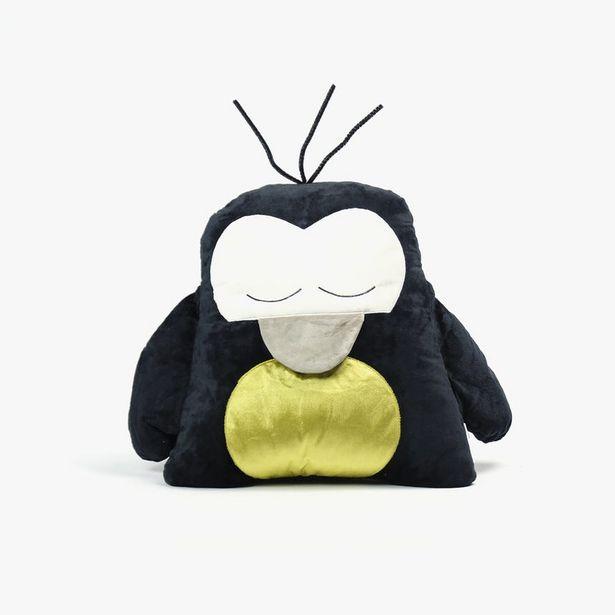 Oferta de Peluche Pingüino Negro y Dorado 40x35 cm por 7,99€