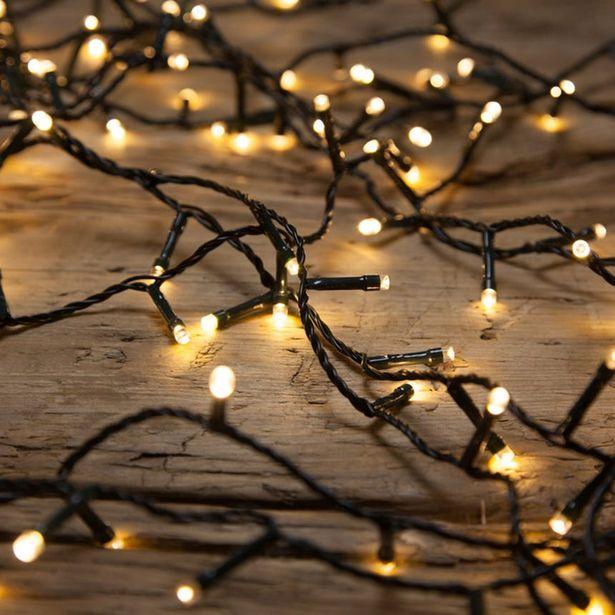 Oferta de Luces de Navidad 200 LED con 8 Funciones de Luz por 22,36€