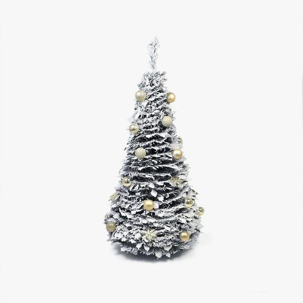 Oferta de Árbol de Navidad Pop-up Bolas Oro 180 cm por 103,2€