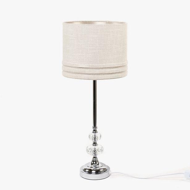 Oferta de Lámpara de Mesa con 2 Bolas Blanco por 69,99€