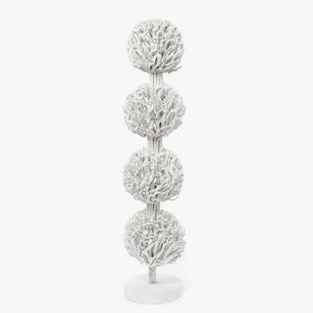 Oferta de Árbol Ramas Blancos 23x110 cm por 34,99€