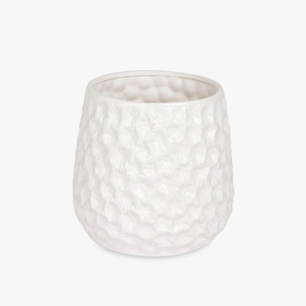 Oferta de Maceta Aquatic Blanco 25x30 cm por 19,99€