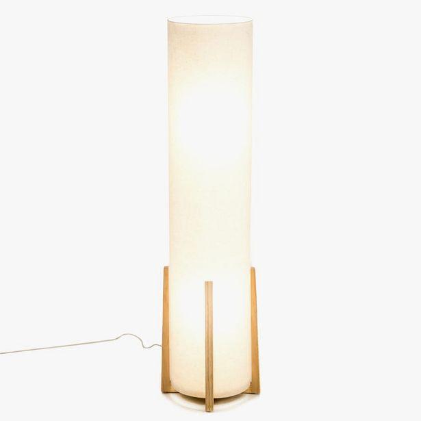 Oferta de Lámpara de Pie Hideki Beige por 99,99€