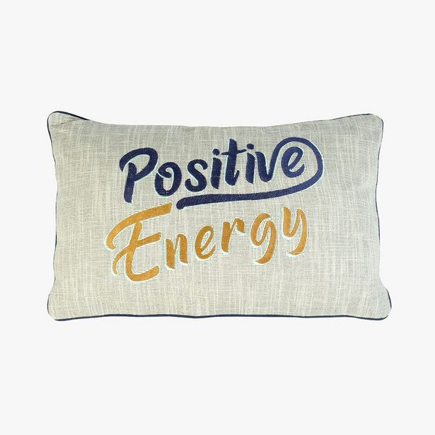 Oferta de Cojín Positive energy 35x55 cm por 9,99€