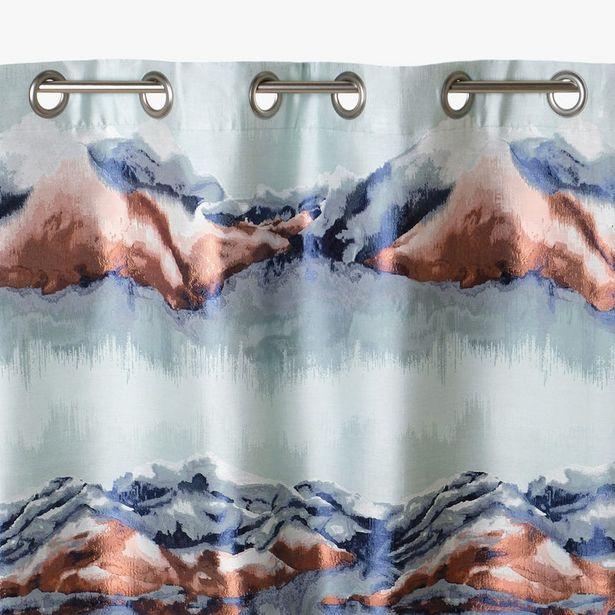 Oferta de Cortina Himalaya Cobre 140x270 cm por 69,99€