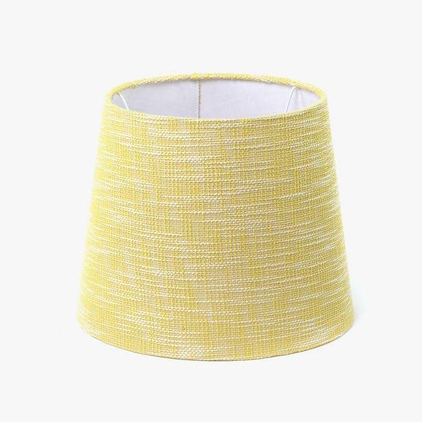 Oferta de Pantalla Long Drum Algodón Amarillo D: 35cm por 14,99€