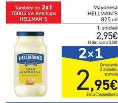 Oferta de Mayonesa HELLMAN'S por 2,95€