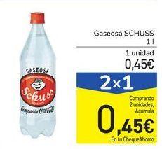 Oferta de Saseosa Schuss por 0,45€