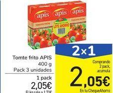 Oferta de Tomate frito APIS por 2,05€
