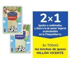 Oferta de En TODAS las locnhas de queso MILLÁN VICENTE por