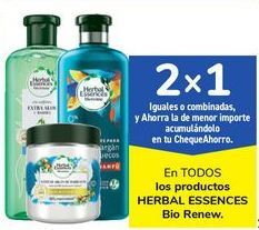 Oferta de En TODOS los productos HERBAL ESSENCES Bio Renew por