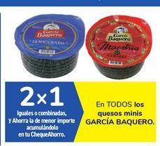 Oferta de En TODOS los quesos minis GARCÍA BAQUERO  por