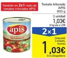Oferta de Tomate triturado APIS por 1,03€