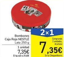 Oferta de Bombones Caja Roja NESTLÉ por 7,35€