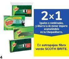 Oferta de En estropajos fibra verde SCOTH BRITE  por