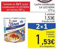 Oferta de Leche condensada LA LECHERA por 1,53€