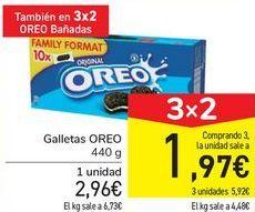 Oferta de Galletas OREO por 2,96€