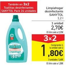 Oferta de Limpiahogar desinfectante Sanytol por 2,7€