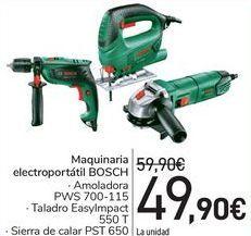 Oferta de Maquinaria electroportátil BOSCH  por 49,9€