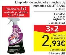 Oferta de Limpiador de suciedas y manchas de humedas CILLIT BANG por 4,4€