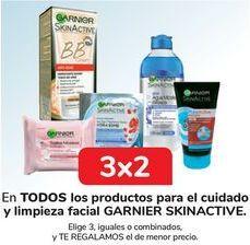 Oferta de En TODOS los productos para el cuidado y limpieza facial GARNIER SKINACTIVE por