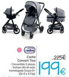 Oferta de Coche Convert Two asalvo  por 199€