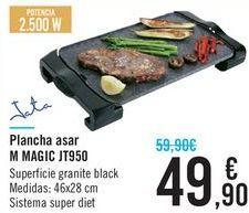 Oferta de Plancga asar M MAGIC JT950  por 49,9€