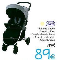 Oferta de Silla de paseo America Plus asalvo  por 89€