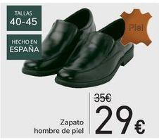 Oferta de Zapato hombre de piel por 29€