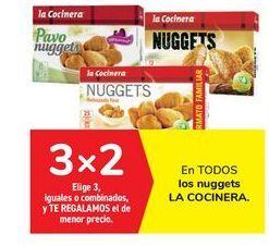 Oferta de En TODOS los nuggets LA COCINERA por