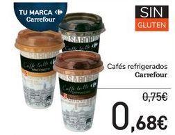 Oferta de Cafés refrigerados Carrefour por 0,68€