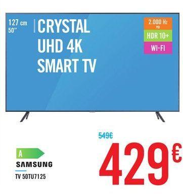 Oferta de TV 50TU7125 SAMSUNG por 429€