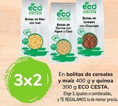 Oferta de En bolitas de cereales y maíz y quinoa ECO CESTA por