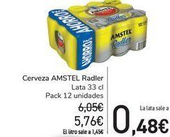 Oferta de Cerveza AMSTEL Radler por 5,76€