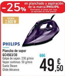 Oferta de Plancha de vapor gc4563/30 por 49,5€