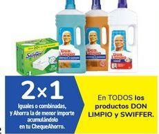 Oferta de En TODOS los productos DON LIMPIO y SWIFFER por