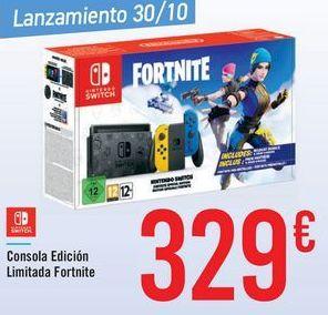 Oferta de Consola Edición Limitado Fortnite por 329€