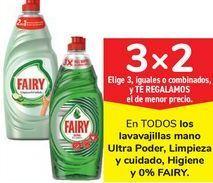 Oferta de En TODOS los lavavajillas mano Ultra Poder, Limpieza y cuidado, Higiene y 0% FAIRY por