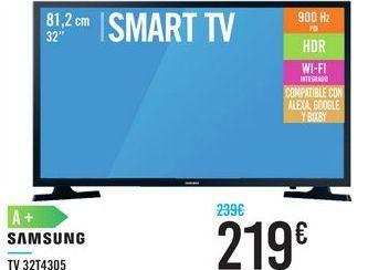 Oferta de TV 32T4305 SAMSUNG  por 219€