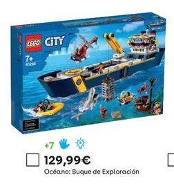 Oferta de Juguetes LEGO por 129,99€
