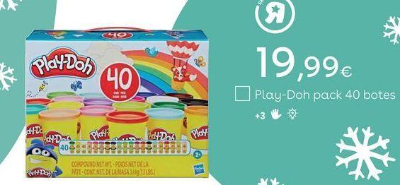 Oferta de Juguetes Play-Doh por 19,99€