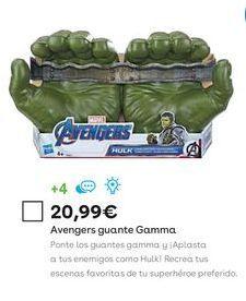 Oferta de Juguetes Marvel por 20,99€