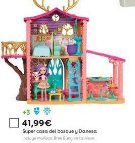 Oferta de Casa de juguete Enchantimals por 41,99€