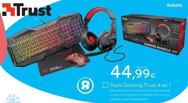 Oferta de Accesorios informática Trust por 44,99€