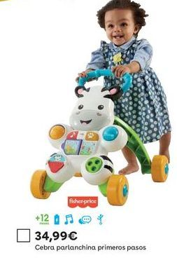 Oferta de Andador Fisher-Price por 34,99€