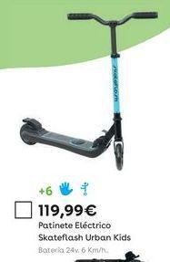 Oferta de Patinete eléctrico por 119,99€