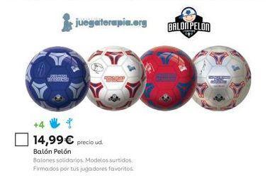 Oferta de Balón de fútbol por 14,99€