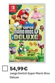 Oferta de Juegos consola nintendo SWITCH  por 54,99€